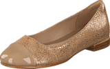 Clarks - Festival Gold Champagne Combi