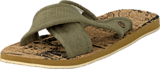 Sneaky Steve - V1523 Canvas cross Khaki