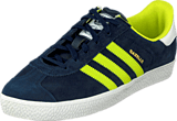 adidas Originals - Gazelle 2 Jr Navy/Yellow/White
