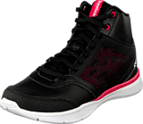 Reebok - Cardio Workout Mid Rs Syn Black/Gravel/Blazing Pink