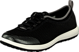 Rockport - Laceup Walk360 Washable Black Mesh
