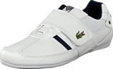 Lacoste - Protected Wht/Dk Blu
