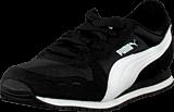 Puma - Cabana Racer Mesh Jr Black-White