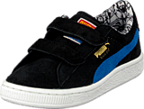 Puma - Suede Superman V Kids Blk/Blue