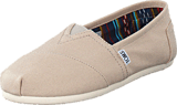 Toms - Seasonal Classics Light Grey Canvas