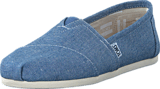 Toms - Seasonal Classics Blue Slub Chambray