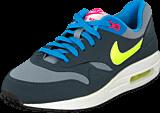 Nike - Nike Air Max 1 (GS) Gray Volt Pink