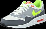 Nike - Nike Air Max 1 (Gs) White/Grey/Volt Green