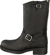 Johnny Bulls - Mid Boot Warm lining Black/Silver