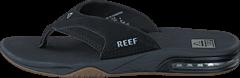 Reef - Fanning Black-Silver