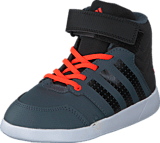 adidas Sport Performance - Jan Bs 2 Mid I Onix/Core Black/Solar Red