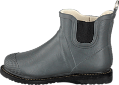 Ilse Jacobsen - Short Rubberboot Flat Sole Grey