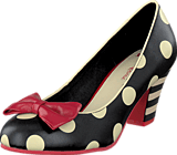 Lola Ramona - Elsie Black/Cream dots
