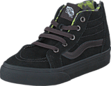 Vans - SK8-Hi Zip (MTE) black/lime punch