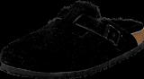 Birkenstock - Boston Black Sheepskin Black