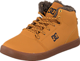 DC Shoes - Crisis High Wnt B Shoe Wheat/Dk Chocolate