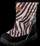 Kavat - Voxna WP White multi (zebra)