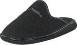 Hush Puppies - Felt Slipper BLACK