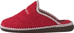 Hush Puppies - Felt Slipper RED