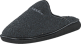 Hush Puppies - Felt Slipper ANTRACITE