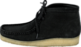 Clarks - Wallabee Boot Black Sde