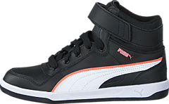 Puma - Puma Liza Mid Jr Black-White
