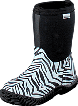 Vincent - Zebra Neopren Black