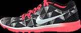 Nike - Wmns Nke Free 5.0 Tr Fit 5 Prt Black/White/Lava Glow