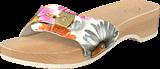 Scholl - PESC DAISY HEEL White Multi