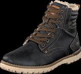 Mustang - 4092603 Men's Boot (fur) Graphite