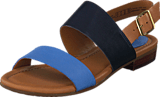 Clarks - Viveca Aztek Blue Combi Lea