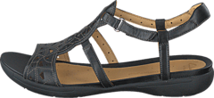 Clarks - Un Valencia Black Leather