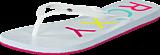Roxy - Rx Sandy J Sndl WHT