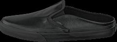 Vans - Classic Slip-On Mule (Leather) Black/Black