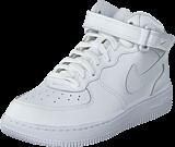 Nike - Force 1 Mid (Ps) White/White-White