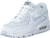 Nike - Nike Air Max 90 Mesh (Gs) White/White-Cool Grey