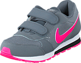 Nike - Nike Md Runner 2 (Psv) Cool Grey/Hyper Pink-Black