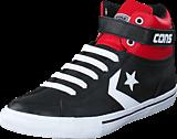 Converse - Pro Blaze Strap-Hi Black/Casino/White
