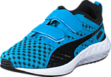 Puma - Flare V Kids Atomic Blue-Black-Black