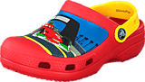 Crocs - CC McQueen & Francesco Clog Flame/Yellow