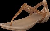 Crocs - Crocs Isabella T-strap Bronze