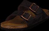 Birkenstock - Arizona Slim Oiled  Leather Habana Brown