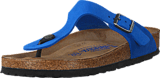 Birkenstock - Gizeh Nubuck Leather Blue