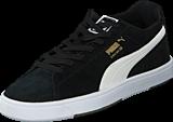 Puma - Suede S Black-White