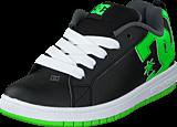 DC Shoes - Dc Kids Court Graffik Shoe Blk/Grs