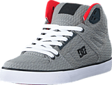 DC Shoes - Dc Spartan Hi Wc Tx Se Shoe Grey/Red