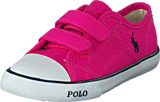 Ralph Lauren Junior - Daymond Ez Regatta Pink Canvas - Navy