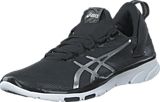 Asics - S561N-9093 Gel-Fit Sana 2 Black/Silver/White