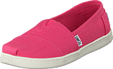 Toms - Seasonal Classics Jr Bubblegum Pink Canvas