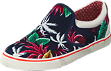 Wrangler - Icon Slip On Canvas Blue Tropical